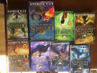 Set of Rick Riordan books