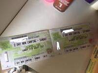 Creamfields Sunday day ticket