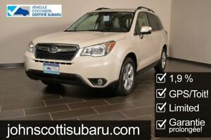 2014 Subaru Forester 2.5i Limited 1.9%