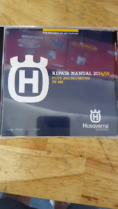 2014/2015 husqvarna repair manual
