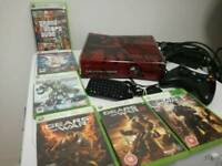 Gears Of War Edition Xbox 360 with 6 games and accessories