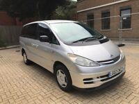 2002 TOYOTA PREVIA 2.0 D4-D GLS 8 SEAT MPV FAMILY CAR DIESEL MANUAL LONG MOT SPACIOUS N VITO TOURNEO