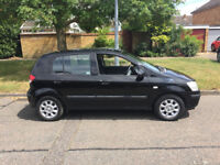 2004 HYUNDIA GETZ 1400CC ENGINE, VERY ECONOMICAL. DRIVES LIKE NEW .FEBUARY 2018 MOT.