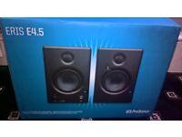 Presonus Eris E4.5 active studio monitor (set of 2) New