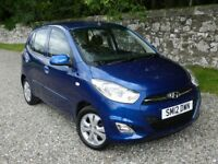 HYUNDAI I10, *15,000 MILES*, 12 MONTHS MOT, PRISTINE CONDITION, F.S.H., A.A. TESTED & APPROVED.