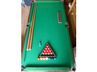 Snooker table & fullest (excellent quality)