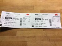 BBC Proms Thurs 17 August 18.30 Saint Seans Organ Symphony and Falla and Lalo