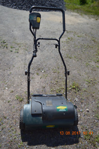 YARD WORKS ELECTRIC DETHATCHER FOR SALE