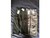 Boys Trousers x 2 Brand new with tags Age 2-3yrs