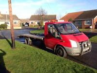 3.5 ton ford transit recovery truck