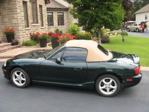 2000 Mazda MAZDASPEED MX-5 Miata Leather package Convertible