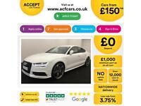 Audi A7 Black Edition FROM £150 PER WEEK!