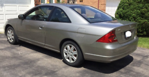 HONDA CIVIC FOR SALE - LOW KMS - GREAT DEAL!! $2800