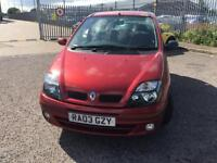 AUTOMATIC Renualt Megane Scenic, Mint Condition, full Service History & mot**IDEAL 1st CAR**