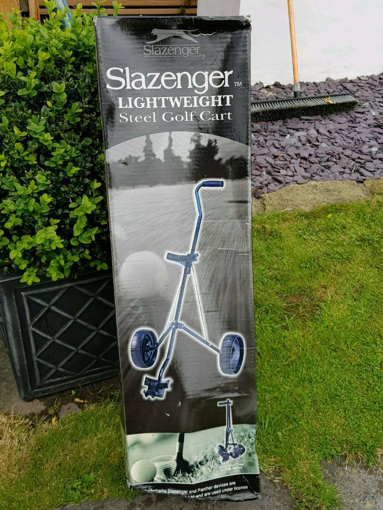 d6dc98cc368 Slazenger light weight Steel Golf Cart   in Penarth, Vale of Glamorgan ...
