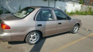 LOW KM One Owner Top Clean Toyota Corolla No Rust Remote Starter