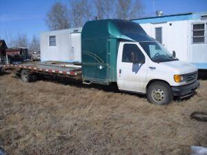 Custom built 22 ft deck truck with sleeper