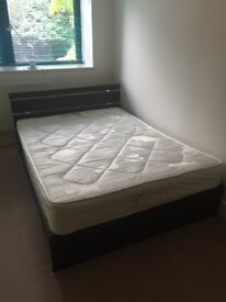 Double Bed with orthopaedic mattress in very very good condition.