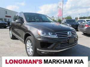 2016 Volkswagen Touareg 3.6L Sportline Outdoors Package