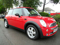 MINI 1.6 ONE 2006 ONLY 80,000 MILES COMPLETE WITH M.O.T HPI CLEAR INC WARRANTY