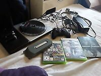 Xbox 360 items inc games n hardive n more