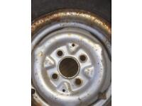 Trailer/ boat/ caravan spare wheel