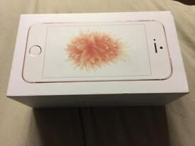 Iphone Se rose gold 16gb on o2