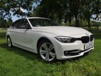 2013 BMW 3 Series 2.0 320D Sport 4dr - Full Red Leather Interior (Start/Stop)