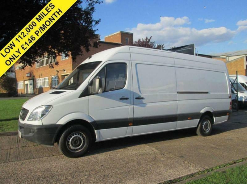 2008 58 MERCEDES-BENZ SPRINTER 2.1 311CDI LWB HIGH ROOF. 1 OWNER. ONLY 112,000 M