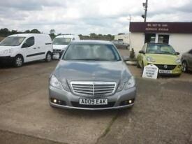 2009 MERCEDES BENZ E CLASS E220 CDI BlueEFFICIENCY SE 4dr Tip Auto