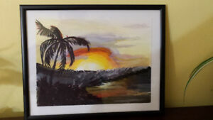 Southern Sunset Painting