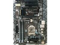 ATX Gigabyte GA- B85-HD3 Intel socket 1150. X4 DDR 3