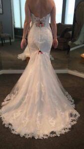 2017 Maggie Soterro / Sandra Ingram robe de mariée