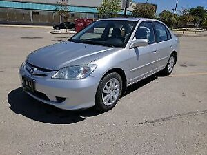2005 Honda Civic Sedan *LOW KM* *SAFETIED*