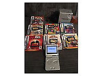 GAMEBOY ADVANCE SP BOXED WITH 25 GAMES.