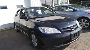 2005 Honda Civic   Certified and ETested   Warranty