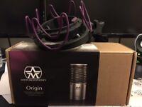 Immaculate like new superb Aston Origin Microphone & Rycote Custom Shockmount (worth £50)