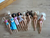 ASSORTED BARBIE DOLLS - £2 each or 2 for £3 - great selection! Come & choose!