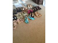 Shoes sale most with tags all never worn