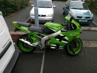 Kawasaki ninja zx636 a1p 18k miles