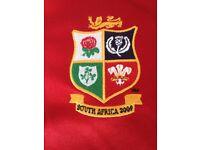 2009 British and Irish Lions Rugby Jersey- Brand New- XL