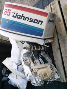 85 hp Johnson outboard