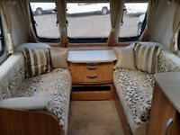 Lunar Clubman SB 2013. ( Fixed Single Beds) Includes Motormover. Used Touring Caravan. MTPLM 1498kg
