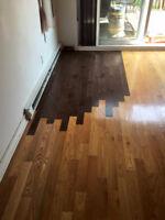 sablage de plancher installation et réparation à partir 1,25$pi2
