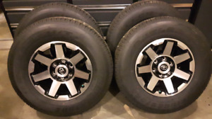 Brand new Toyota 4Runner wheels and tires