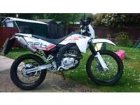 Sfm zx 125 motorbike
