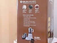 Bajaj Indian Mixer grinder with 3 Jars with UK adapter in Box in working condition
