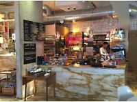Barista - busy Canada Water Cafe - £9.50ph + tips + training + great lunch