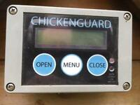 Chicken Ark with automatic closing and opening door