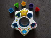Fisher Price Retro Musical Shape Sorter Toy
